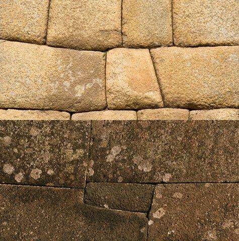 Inca wall & Easter Island wall