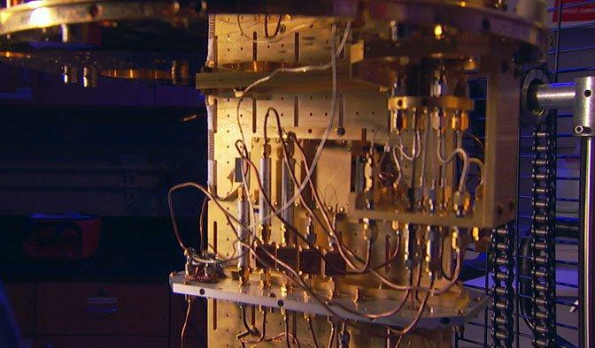 CU of quantum computer