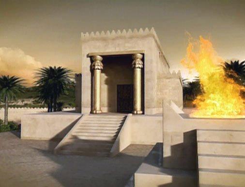 Solomon's Temple animation