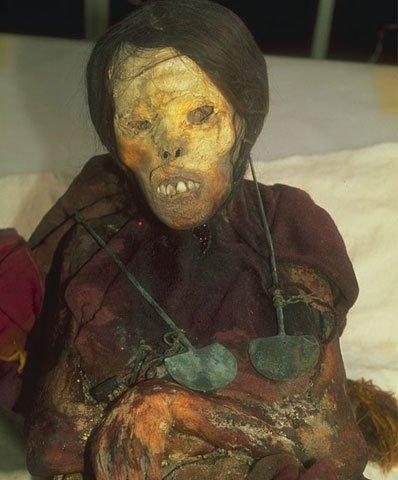 Inca mummy Juanita