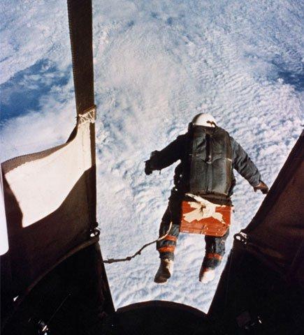 Kittinger parachute jump