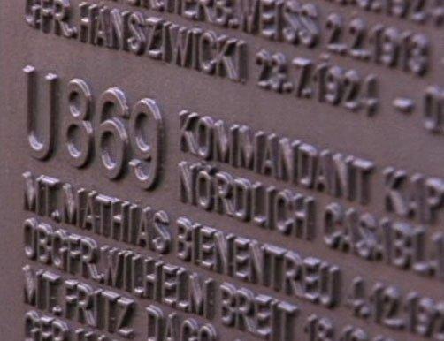 closeup of memorial