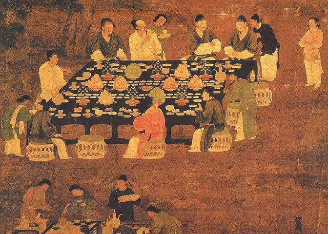 Song Dynasty elegant party