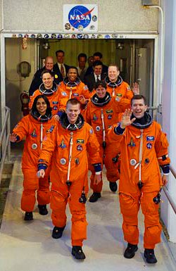 The STS-107 crew