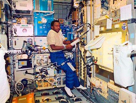 Astronaut Michael Anderson