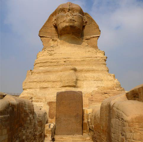 Sphinx and Dream stela