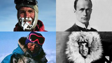 Gareth Wood, Douglas Mawson, Keizo Funatsu, Richard Byrd