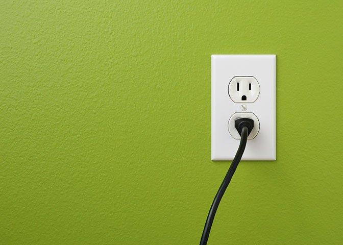 green socket