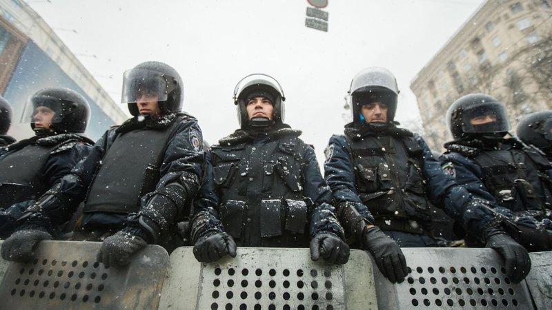 Ukraine security forces