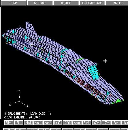 computer image of Britannic hull