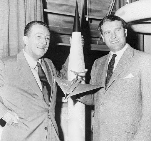 von Braun, Disney