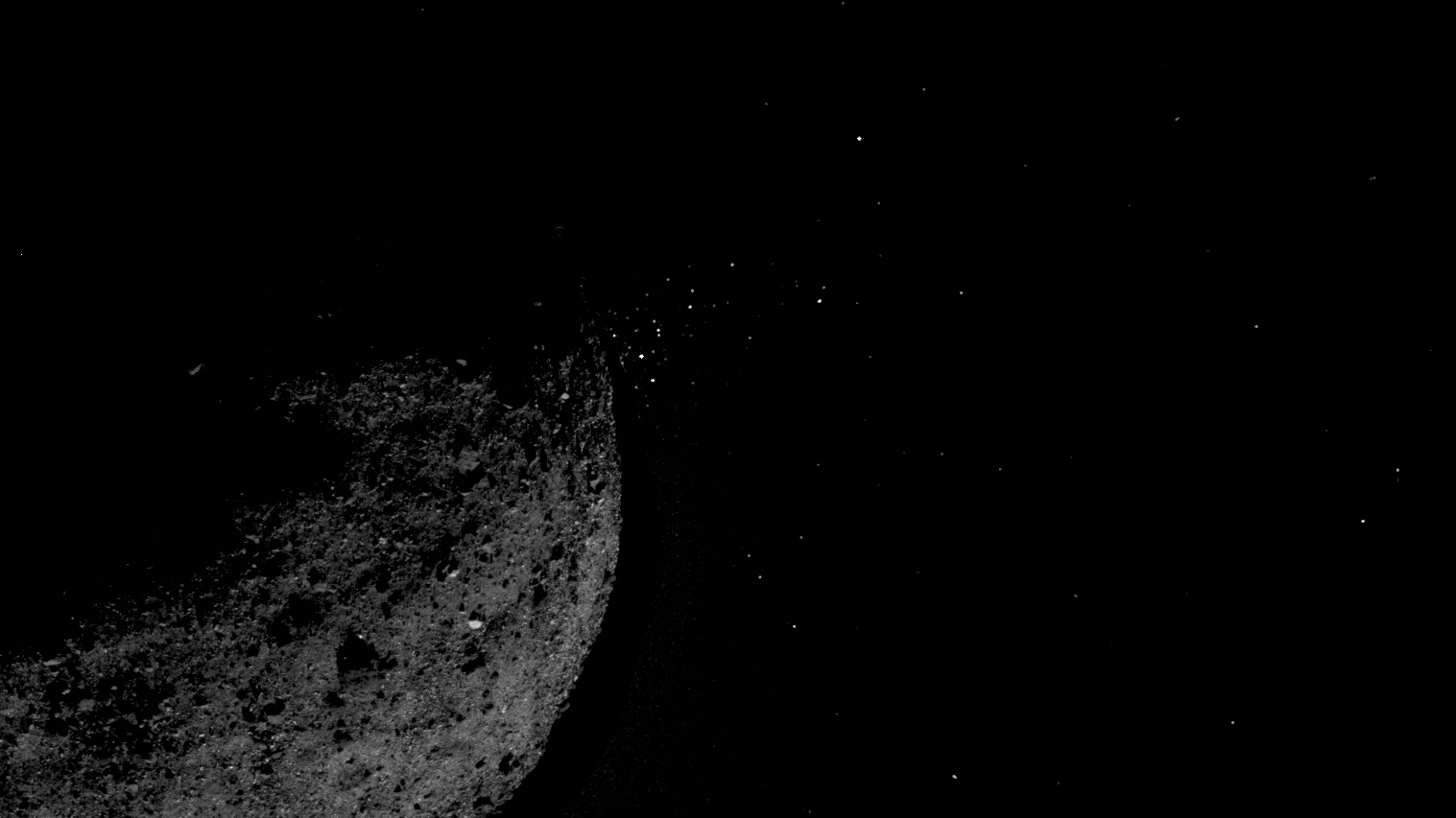 On the Asteroid Bennu, Surprising Activity and Rugged Terrain