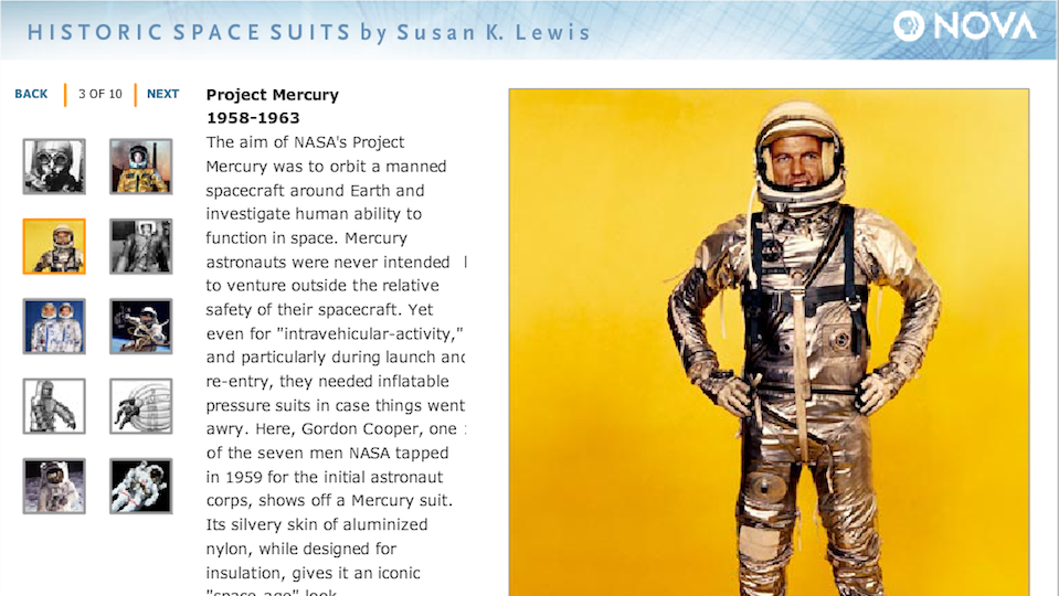 Historic Space Suits - Hero Image