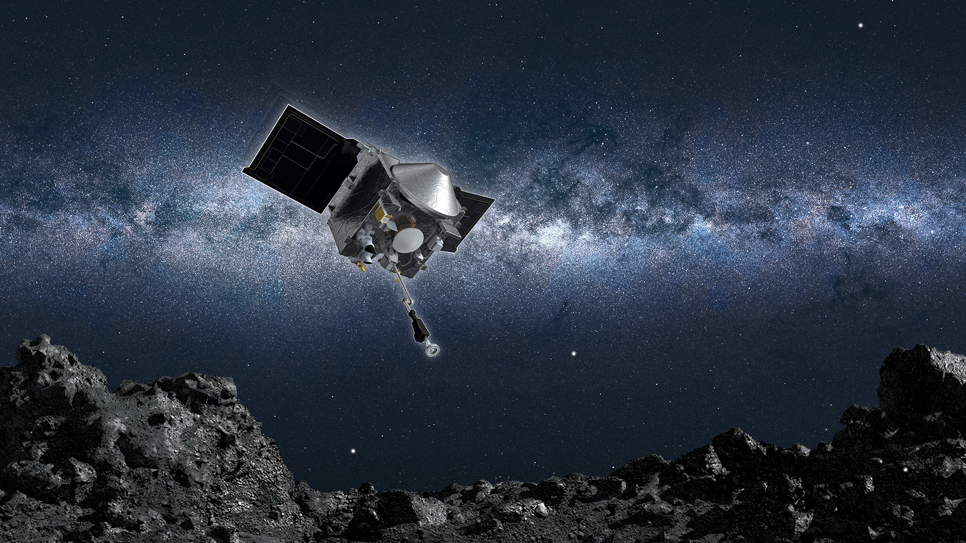 Nasa spacecraft will attempt to snatch rubble from ancient asteroid