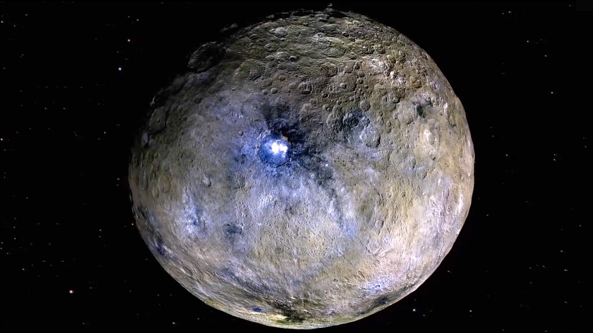 Salty dwarf planet Ceres could be hiding an ocean