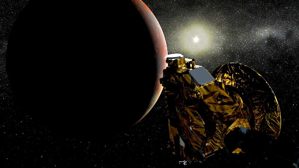 A Pluto Flyby Dress Rehearsal Hero