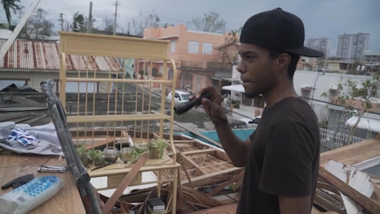 Aftermath of Hurricane Maria Hero