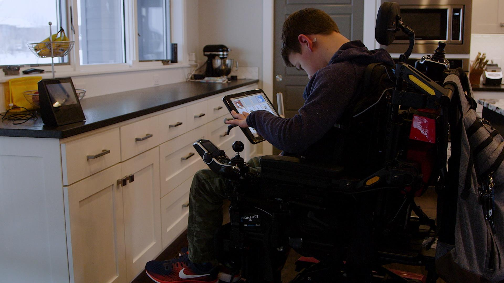 AI Helps Young Man with Cerebral Palsy Find Independence Hero