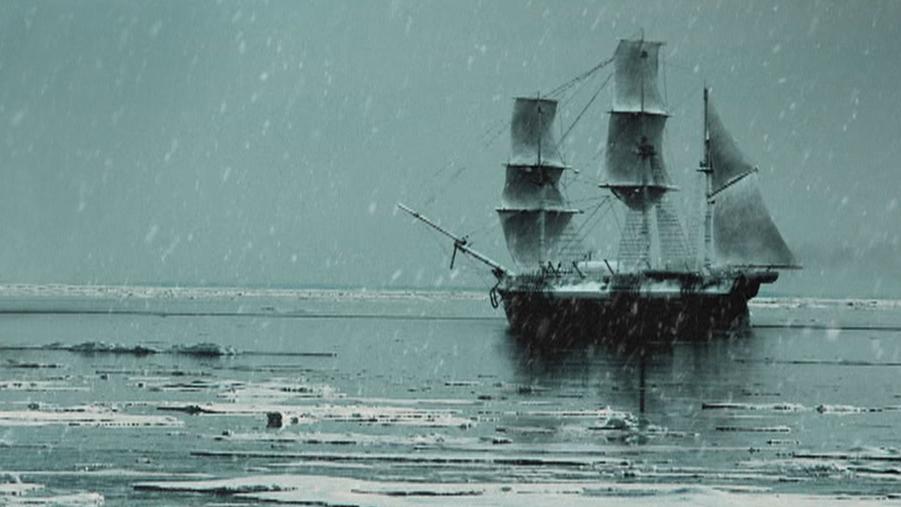 Arctic Ghost Ship Hero