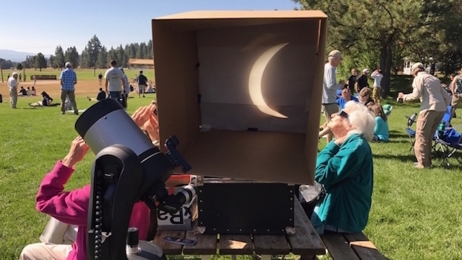 Awe and Wonder at the Eclipse