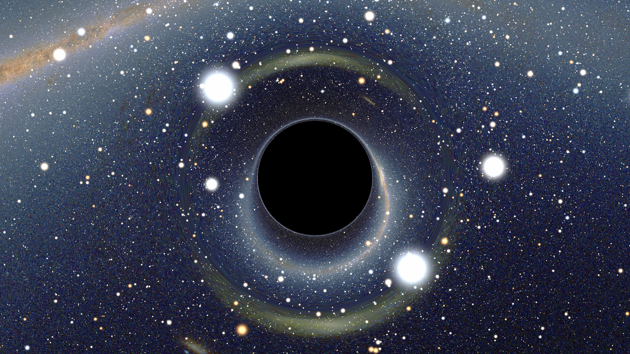 New Wormhole Could Resolve the Black Hole Information ...