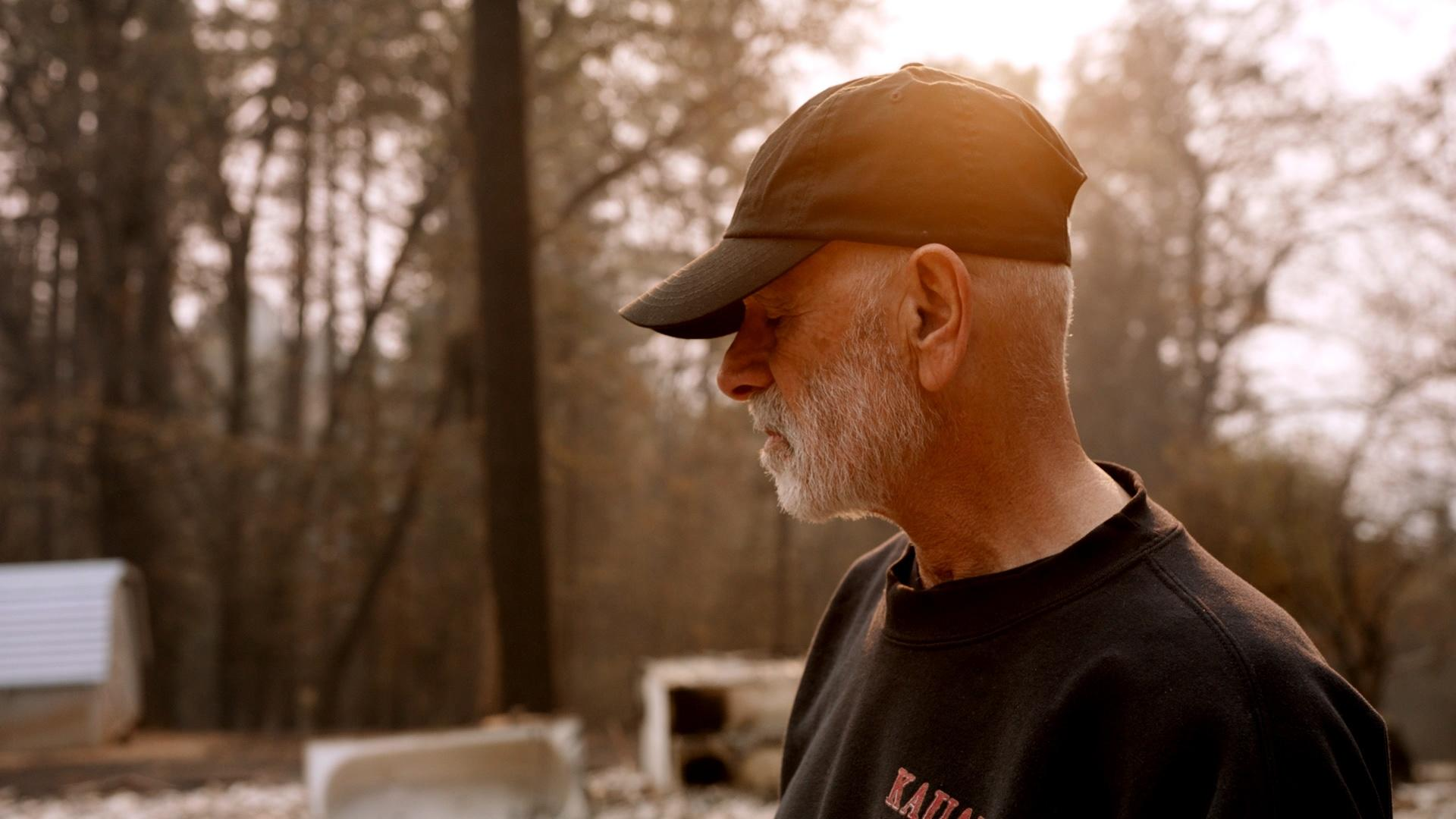 Camp Fire Survivor Sees Destroyed Home for the First Time Hero