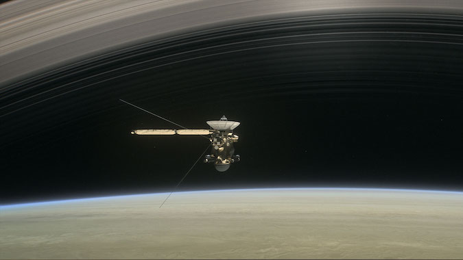 Track Cassini's Final Moments Orbiting Saturn