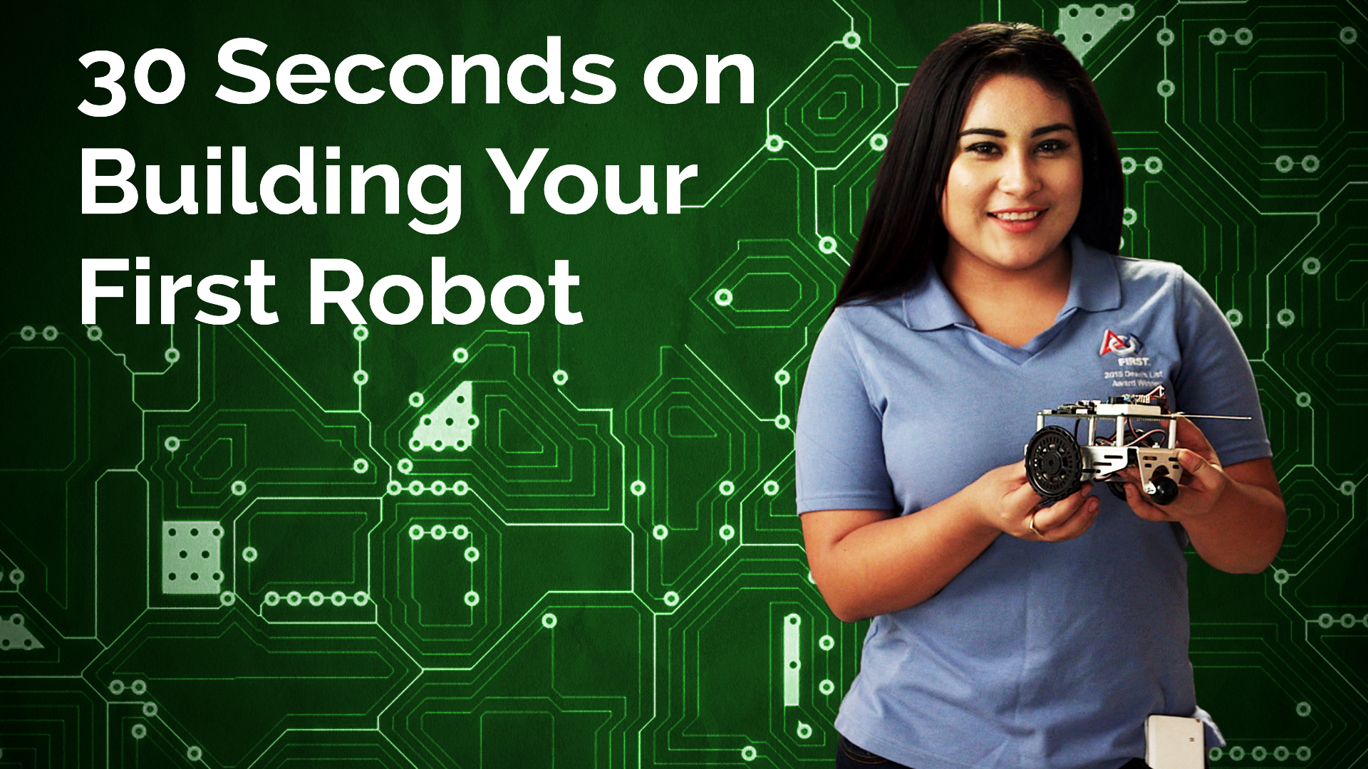 Cynthia Erenas: 30 Seconds on Building Your First Robot Hero