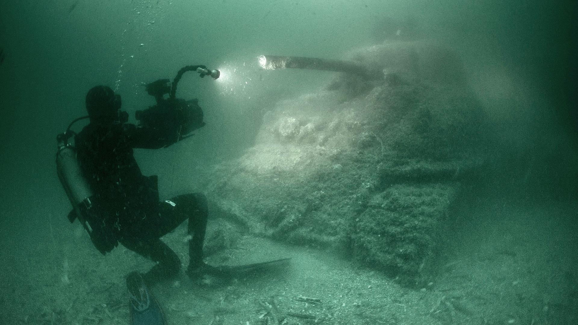 D-Day's Sunken Secrets Hero