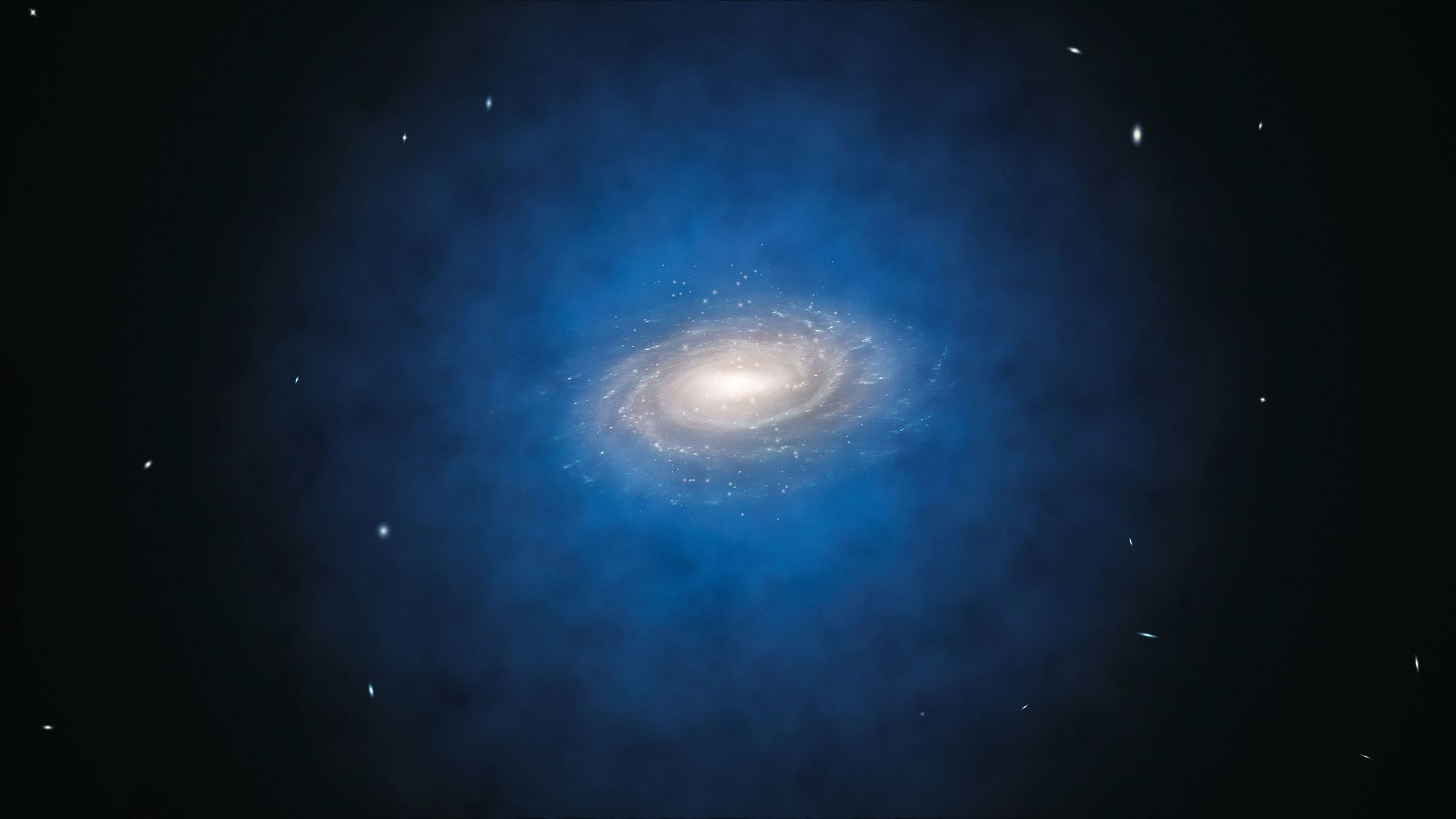 Galaxy's Disk of Dark Matter Could Trigger Mass Extinctions on Earth