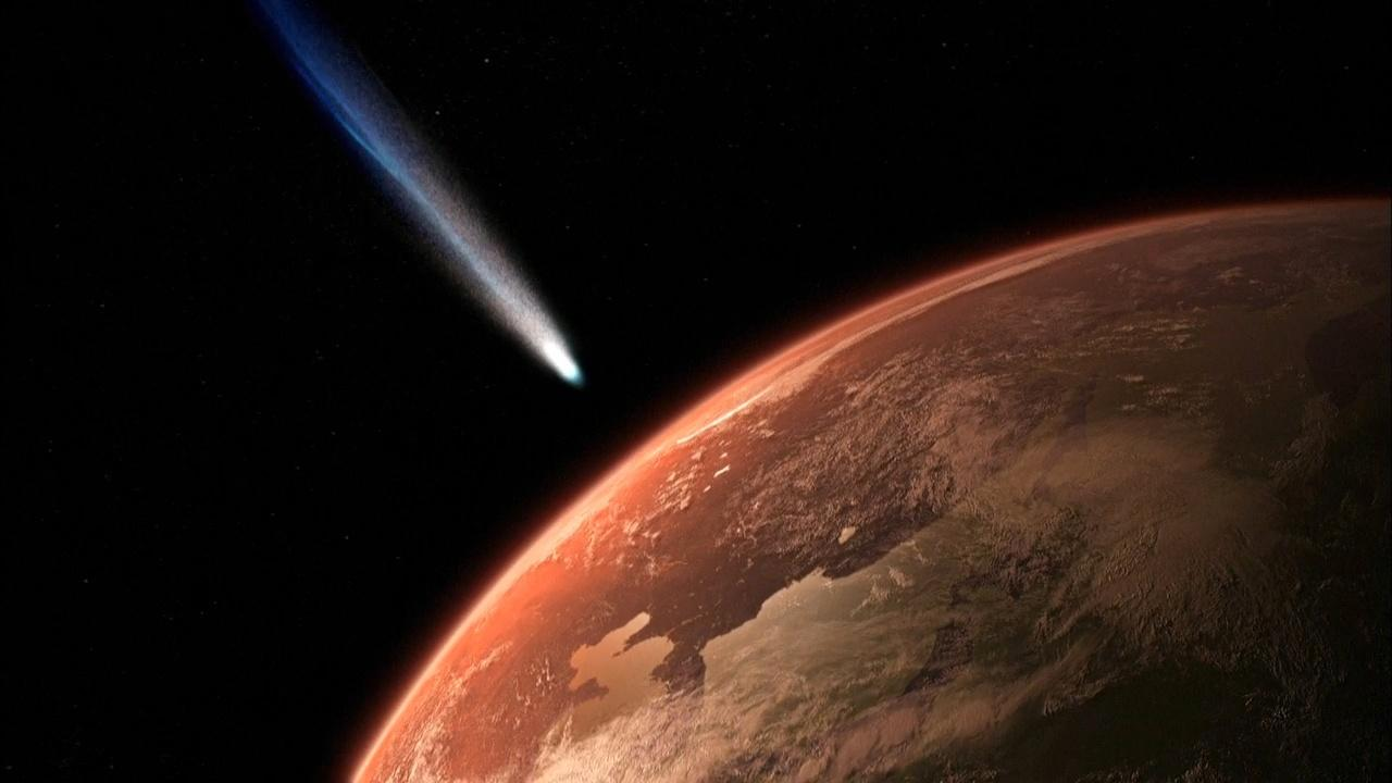 Early Earth Bombarded By Comets Hero