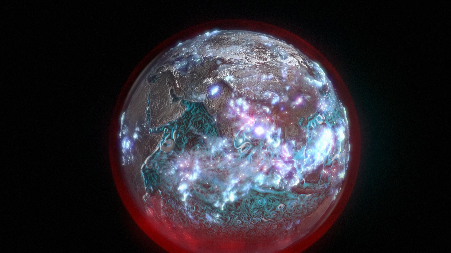 Earth From Space Hero