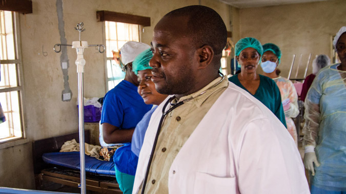 The Brave Young Doctors of Sierra Leone