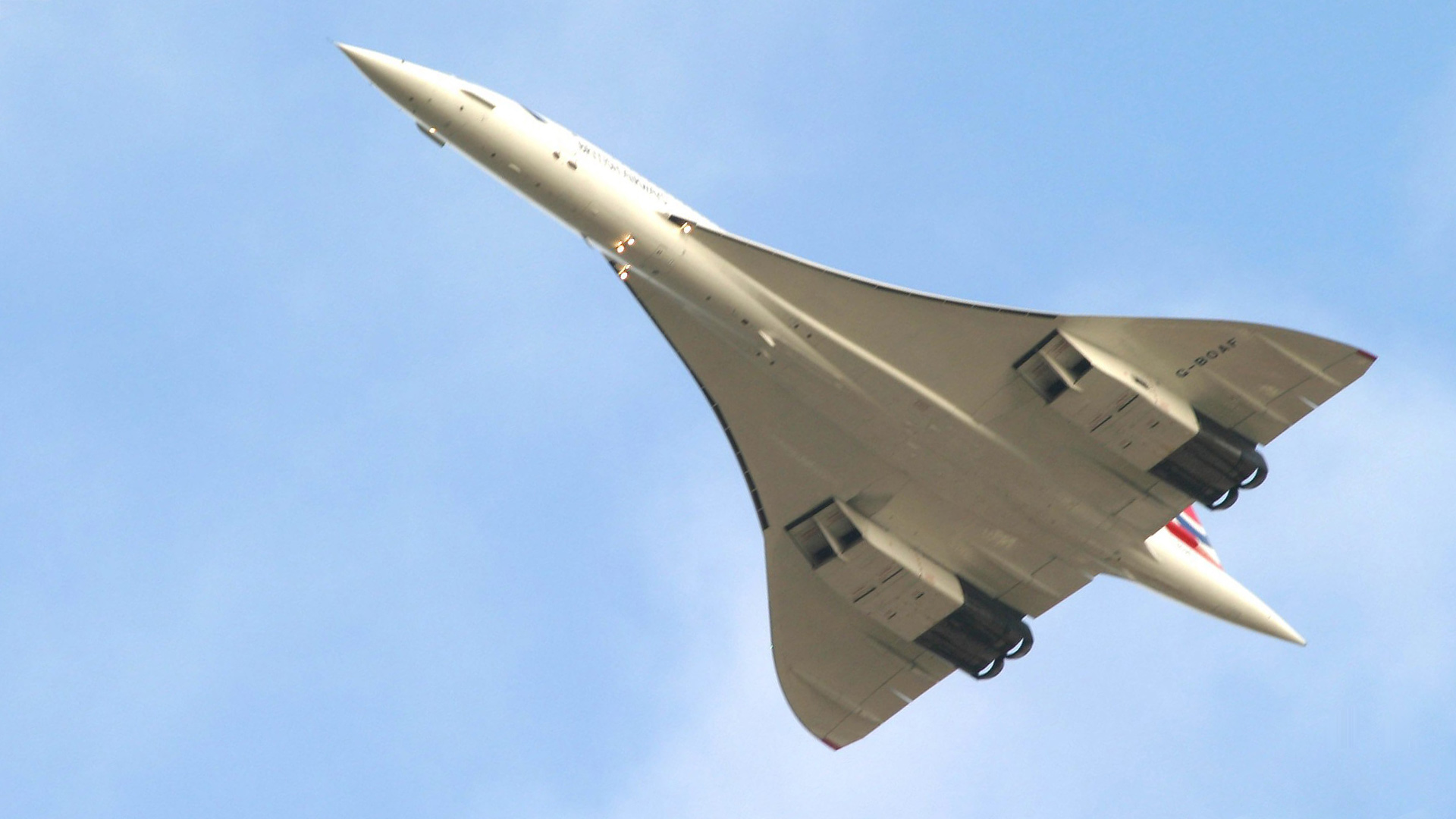 Flying Supersonic Program Image