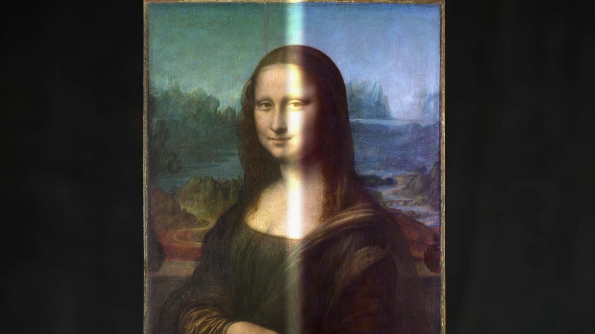 "Giving the ""Mona Lisa"" a Digital Makeover Hero"