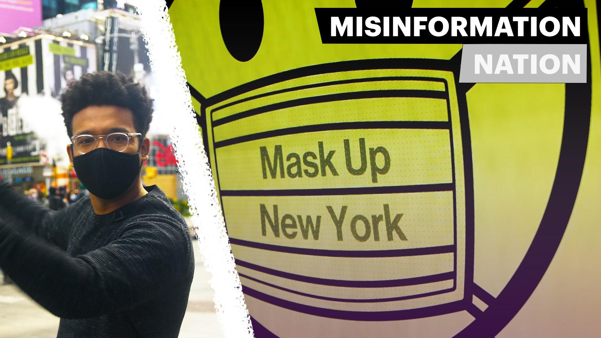 How Mask-Wearing Misinformation Became a Reality Hero