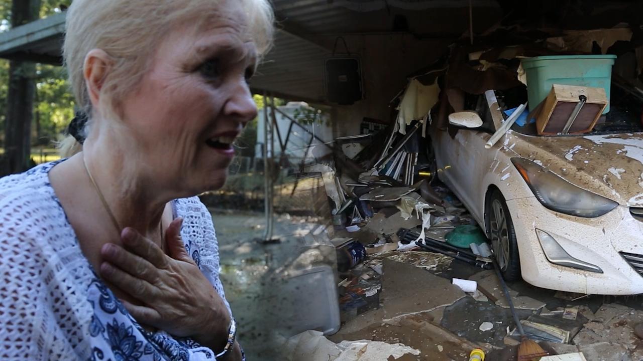 Hurricane Harvey Destroys Home Hero