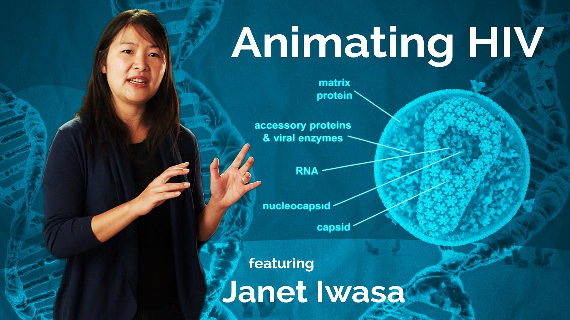 Janet Iwasa: Animating HIV Hero
