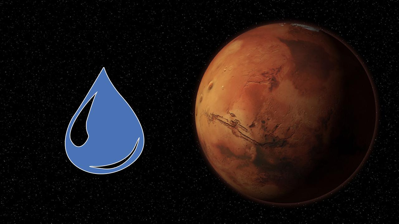 Liquid Water Found on Mars Hero