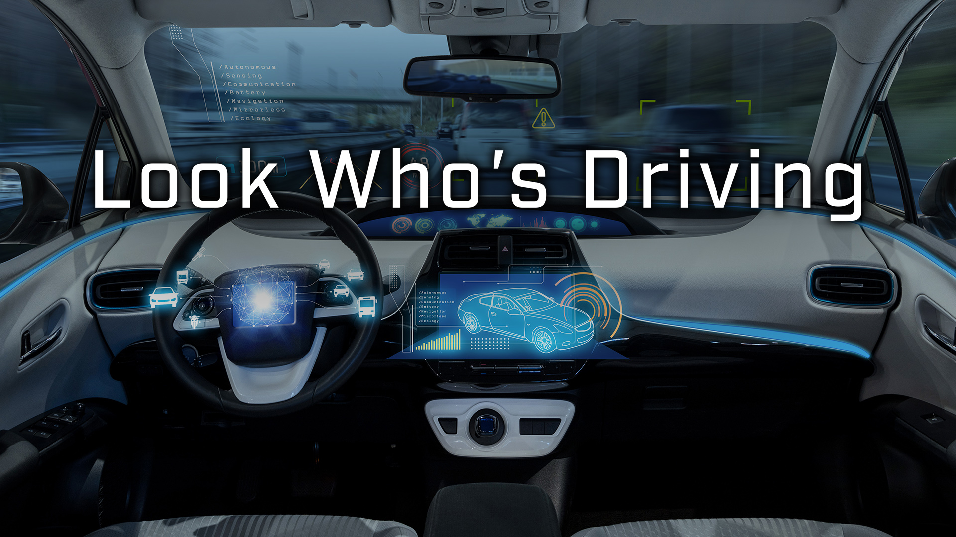 """October Events: """"Look Who's Driving"""" Screenings & Panel Discussions"""