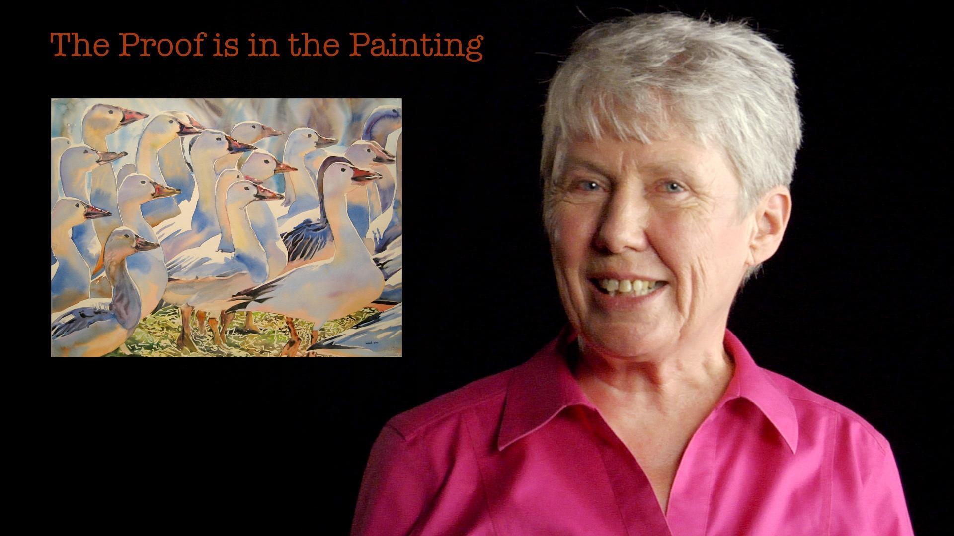 Maria Klawe: The Proof is in the Painting Hero