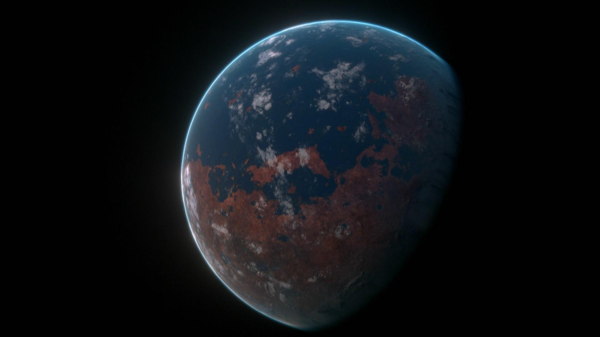 Mars, the Red Planet, Was Once Blue Hero