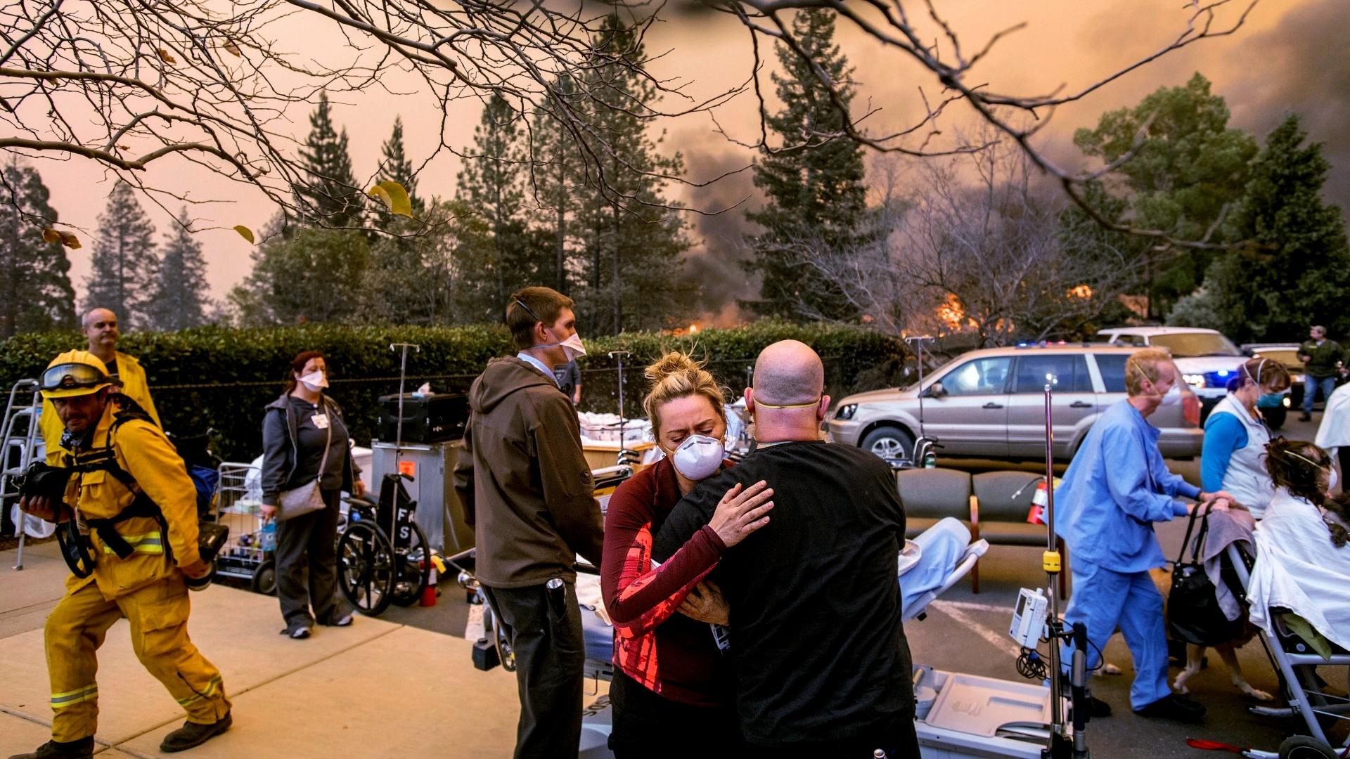 Residents Flee Paradise During the Camp Fire Hero