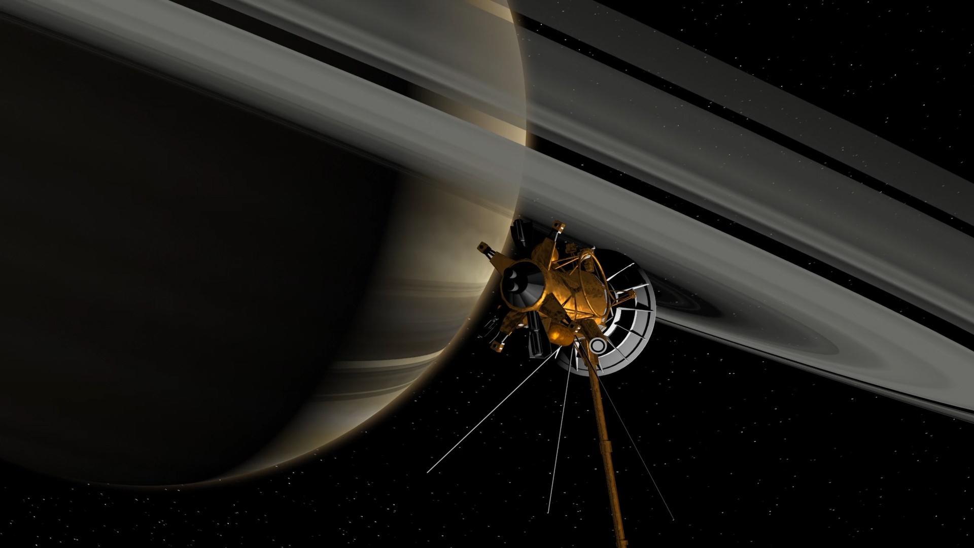 Saying Goodbye to Cassini Hero