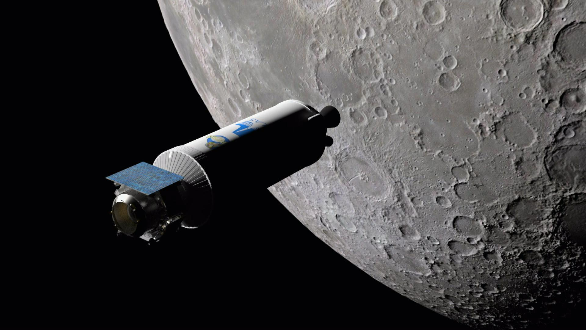 Scientists Launch Rocket into the Moon to Find Water Hero