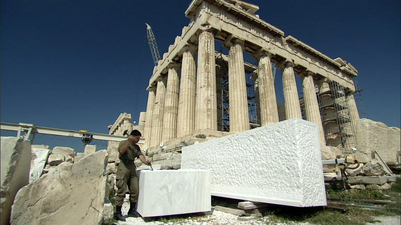 Secrets of the Parthenon Hero