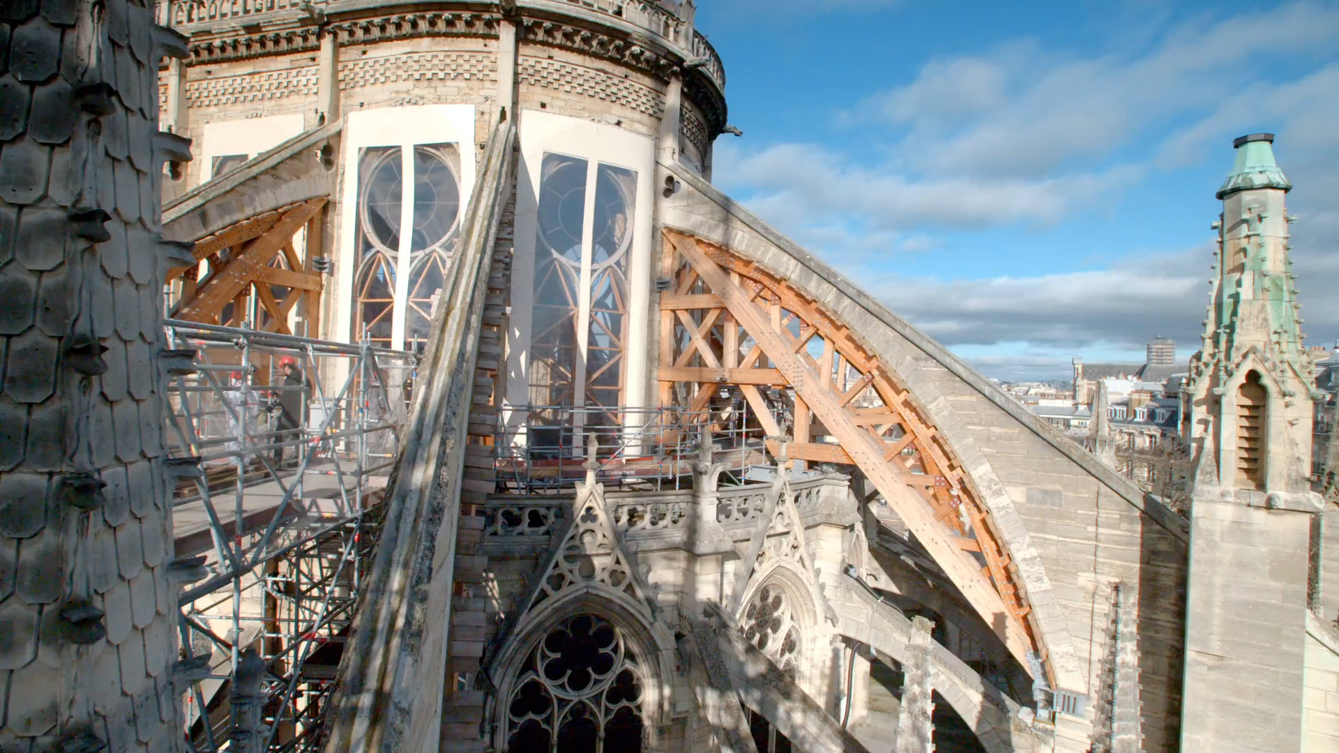 Stabilizing Notre Dame's Famous Buttresses Hero