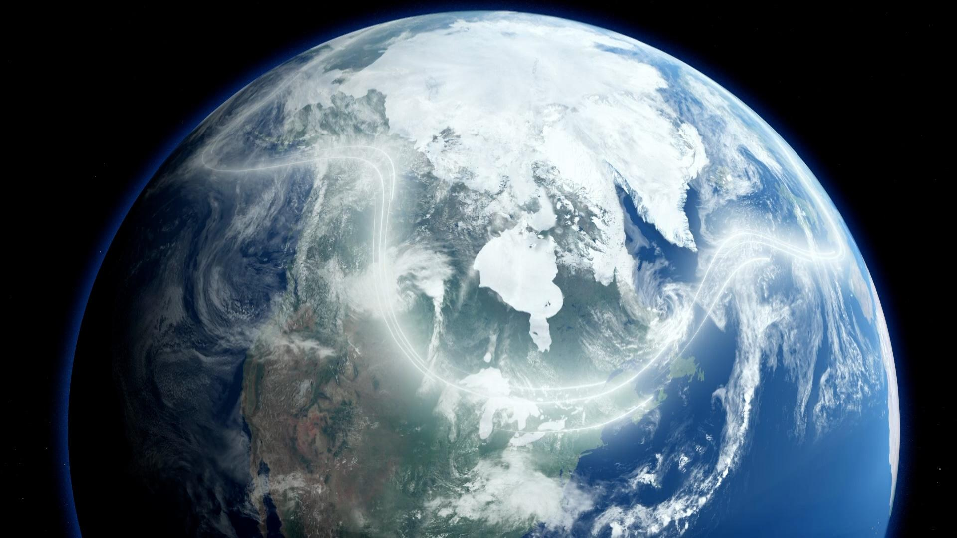 The Arctic Jet Stream Affects Global Climate. Here's Why. Hero