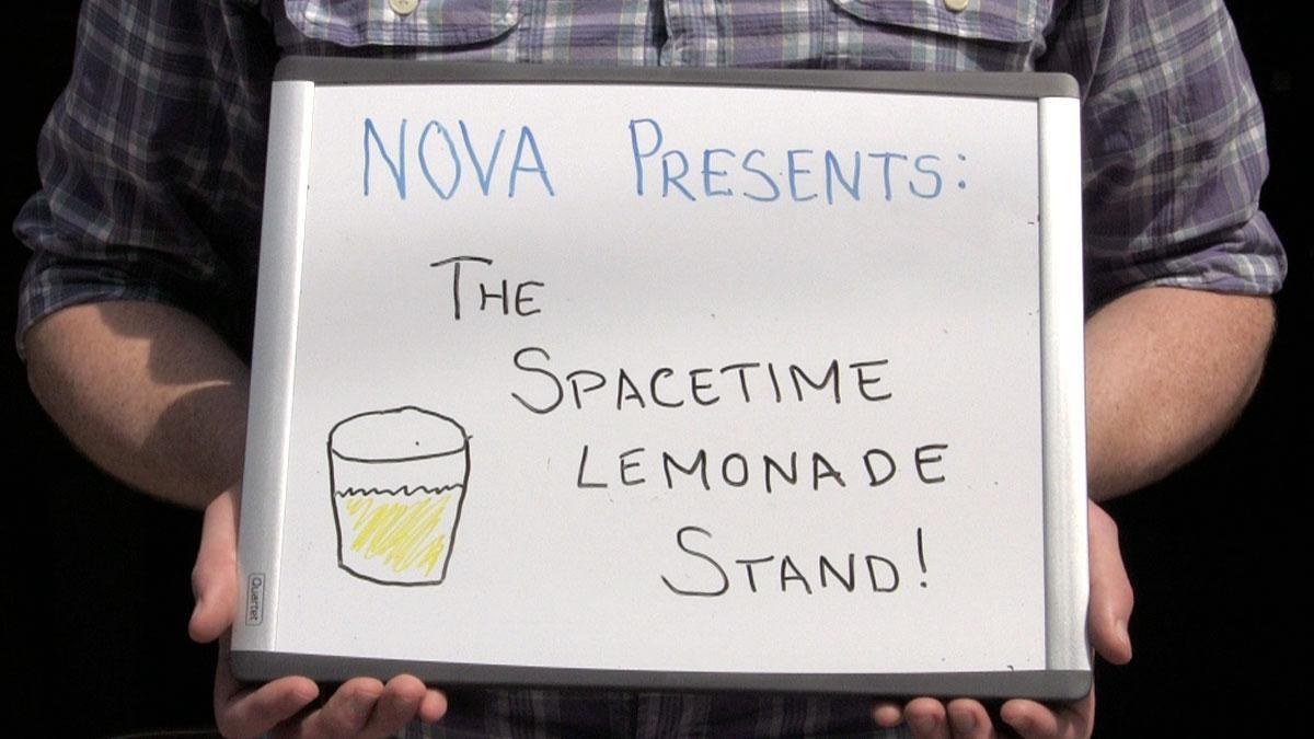 The Spacetime Lemonade Stand Hero