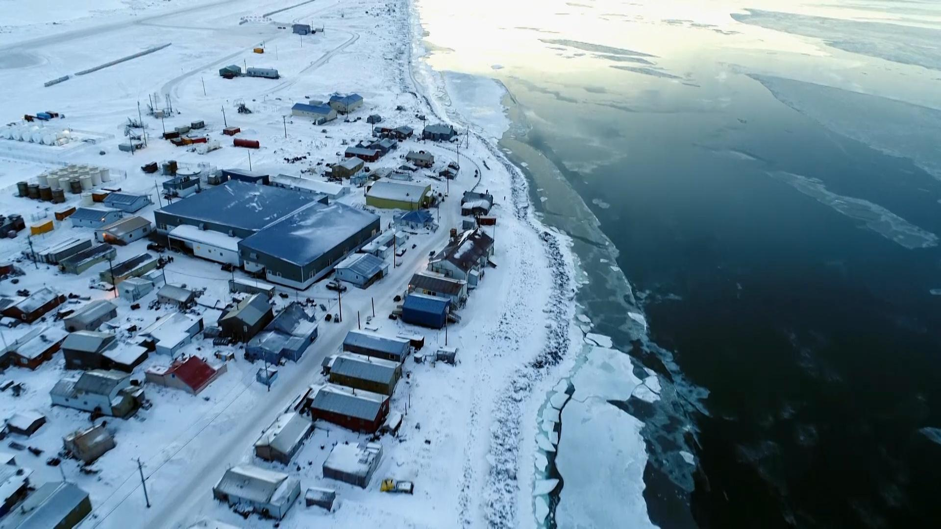 This Alaska Community is Losing Sea Ice to Climate Change Hero